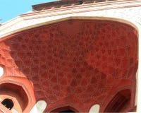 Taj Mahal gate architecture detail Stock Photo