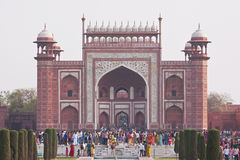Taj Mahal Gateway Royalty Free Stock Images