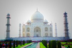 Taj Mahal. A great Indian Love Story Royalty Free Stock Photos