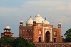 Taj Mahal guesthouse, Ινδία Στοκ Εικόνες
