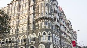 Taj Mahal Hotel, Bombay Royaltyfria Bilder