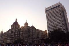 Taj Mahal Hotel, Colaba, Mumbai Image stock