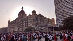 Taj Mahal Hotel, Colaba, Mumbai Royaltyfri Foto