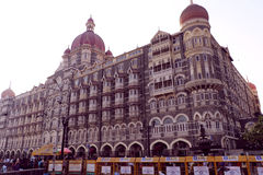 The Taj Mahal Hotel, Colaba, Mumbai Stock Photos
