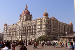 The Taj Mahal Hotel, Colaba, Mumbai Royalty Free Stock Image