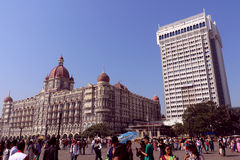 The Taj Mahal Hotel, Colaba, Mumbai Royalty Free Stock Images