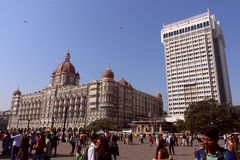 The Taj Mahal Hotel, Colaba, Mumbai Stock Image