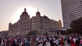 The Taj Mahal Hotel, Colaba, Mumbai Royalty Free Stock Photo
