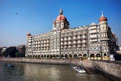 Taj Mahal hotel in Mumbai. Taj Mahal hotel famous building of touristic part in Mumbai, India royalty free stock photos