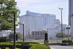 Taj Mahal Hotel y casino en el centro turístico de Atlantic City de New Jersey los E.E.U.U. fotografía de archivo