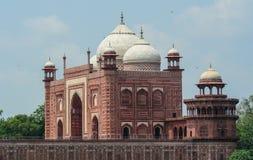 Taj Mahal i Agra, Indien royaltyfri bild
