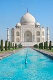Taj Mahal i Agra, Indien arkivfoton