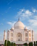 Taj Mahal i soluppgångljus, Agra, Indien Royaltyfri Fotografi