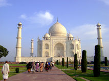 Taj Mahal - India. The taj mahal palace. Located in Agra India Stock Photography