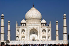 Taj Mahal.India imágenes de archivo libres de regalías