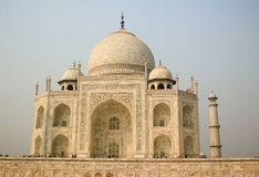 Taj Mahal in India Royalty Free Stock Photography