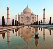 Taj Mahal in India Fotografia Stock Libera da Diritti