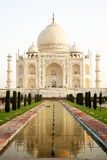 Taj Mahal in India Stock Image