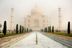 Taj Mahal in India. One is to visit the Taj Mahal Indian stock photos