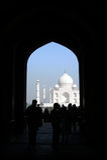 Taj Mahal India fotografia stock