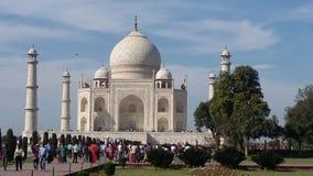 Taj Mahal in India Lizenzfreies Stockfoto