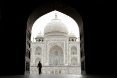 Taj Mahal, India Royalty Free Stock Photo