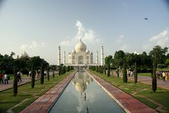 The Taj Mahal, India Stock Photo