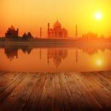 Taj Mahal India stock foto