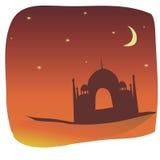 Taj Mahal, India illustrazione di stock