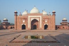 Taj Mahal India, Agra 7 światowych cudów Piękna Tajmahal mostownica Obraz Stock