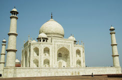 Taj Mahal in India,Agra Royalty Free Stock Photography
