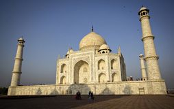 Taj Mahal, India. The Taj Mahal in Agra India. One of the greatest architectural masterpieces in the world, it is a marble mausoleum built between 1632 and 1653 stock photos