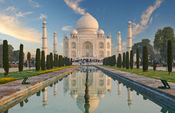 Taj Mahal India, Agra 7 Weltwunder Schönes Taj Mahal trave Stockfotos