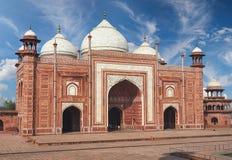 Taj Mahal India, Agra 7 Weltwunder Schönes Taj Mahal trave Lizenzfreies Stockbild