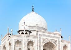 Taj Mahal in India, detail Stock Images