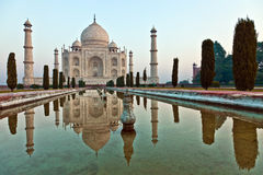Taj Mahal in India Stock Photography