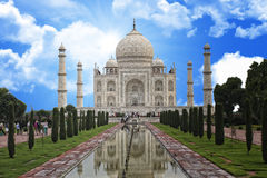 Taj mahal india monument Royalty Free Stock Images