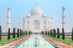 Taj Mahal in India Royalty Free Stock Photos