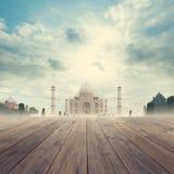 Taj Mahal India Sunrise Royalty-vrije Stock Afbeelding