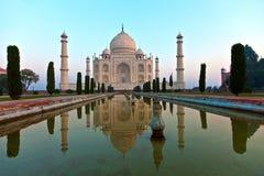 Taj Mahal in India Royalty Free Stock Photography