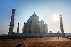 Taj Mahal India Sunset. Royalty Free Stock Photography