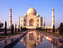 The Taj Mahal, India. Royalty Free Stock Photo