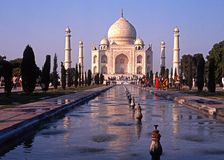 The Taj Mahal, India. Royalty Free Stock Images