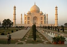 The Taj Mahal, India. Stock Photos