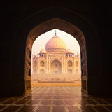 Taj Mahal India. N palace. Famous religion temple. Agra, India Royalty Free Stock Images