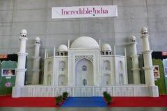 Taj Mahal indian temple reproduction stock images
