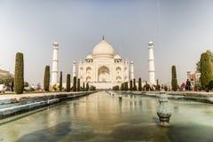 Taj Mahal Indias Seven Wonders-Concept royalty-vrije stock afbeelding