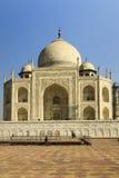 Taj Mahal Indias Seven Wonders-Concept stock afbeelding
