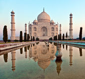 Taj Mahal in Indien Lizenzfreie Stockfotografie