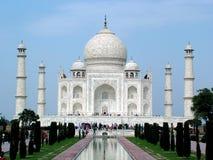 Taj Mahal, Indien stockbild